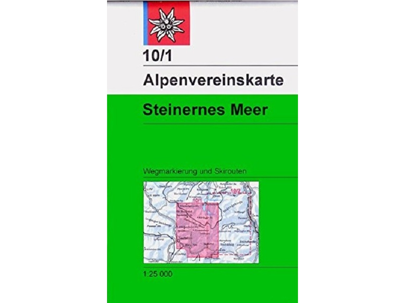 Alpenvereinskarte 10/1, Steinernes Meer
