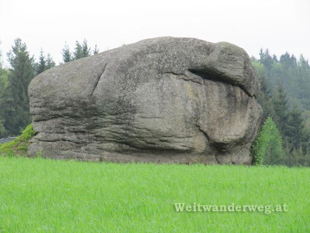 Granit im Waldviertel bei Türnau