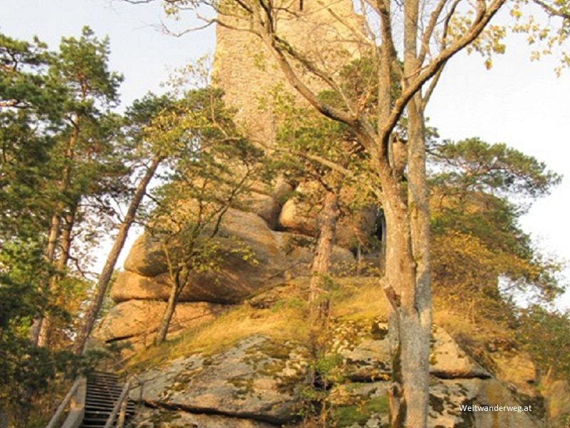 Kuenringer Ruine Arbesbach im Waldviertel