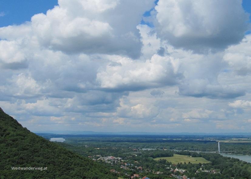 Blick über den Nationalpark Donau-Auen bei Hainburg