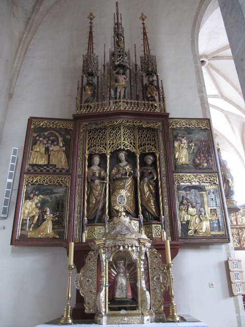 Altar Kirche Schönbach