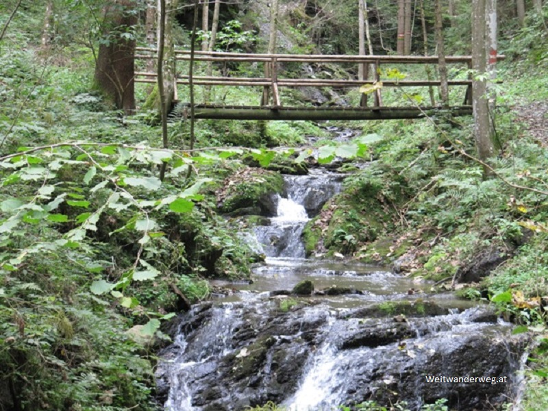 Dreimühlenweg bei Mönichwald, Steiermark