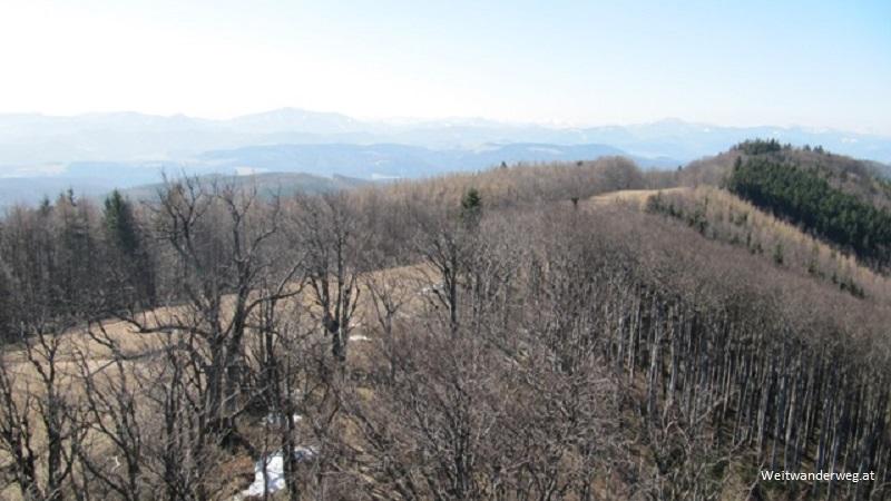 Der Schöpfl im Wienerwald, Blick von der Matras-Warte