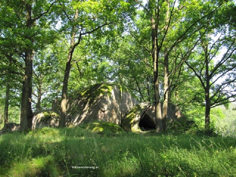 Naturpark Blockheide bei Gmünd, Waldviertel, Niederösterreich