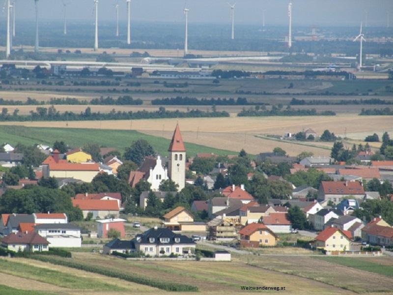 Ökologische Energie Windräder Weinviertel