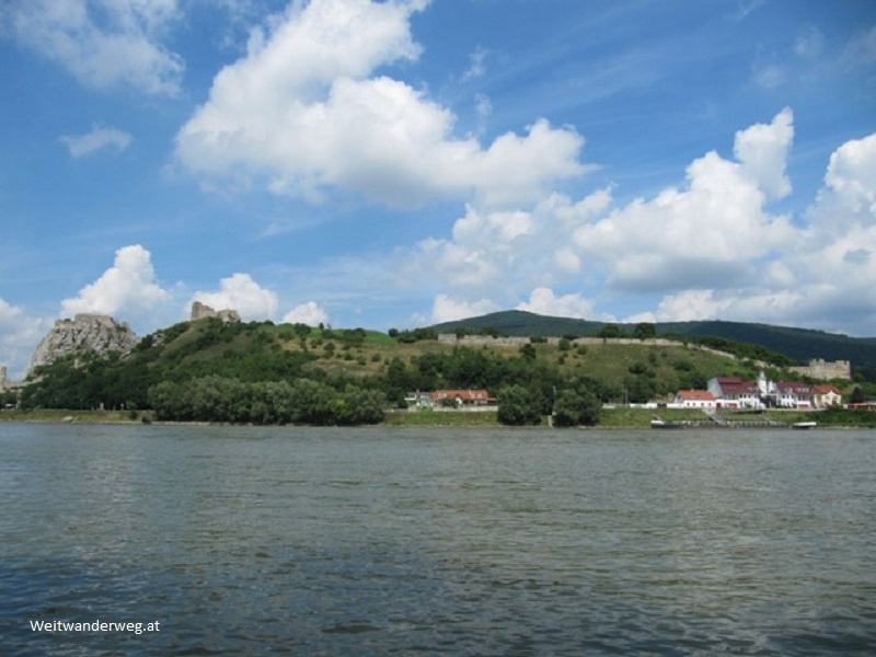 Devin (Theben) am slowakischen Donauufer