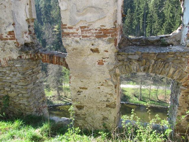 Ruine Kollmitz, Blick auf die Thaya