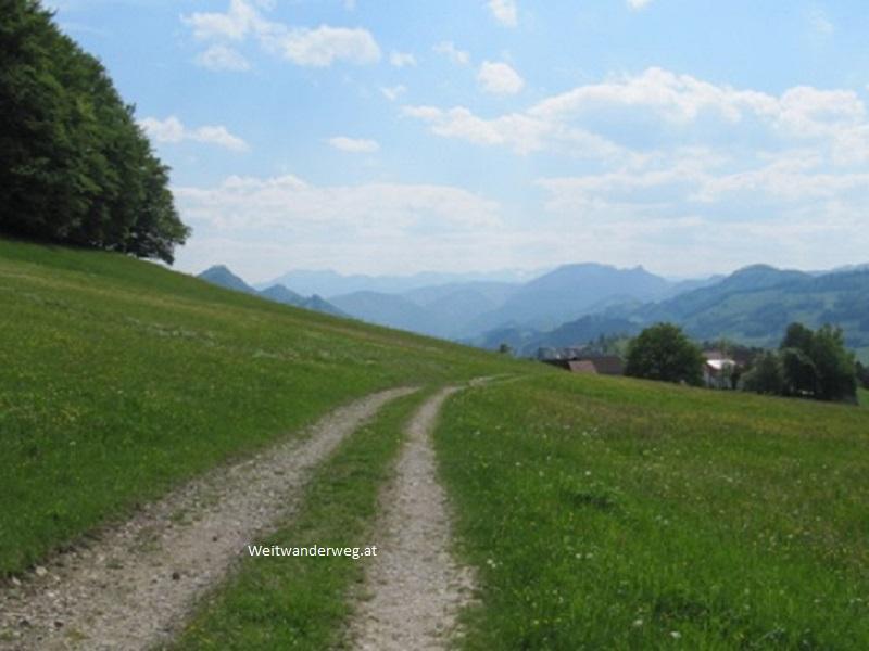 Voralpiner Höhenweg bei Maria Neustift im Mostviertel
