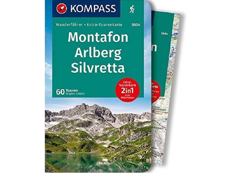 Kompass Wanderführer KV WF 5604 Montafon, Arlberg, Silvretta