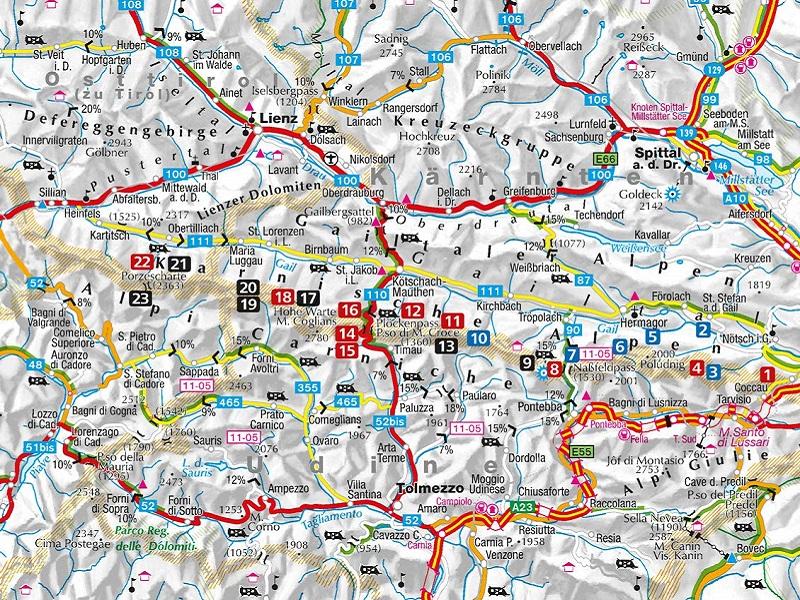Wanderführer und Karten Karnischer Höhenweg
