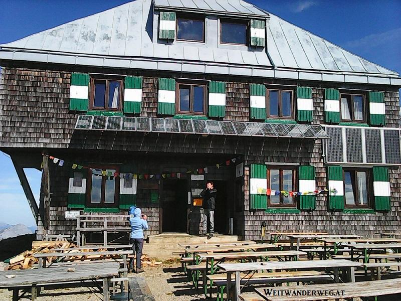 Reichensteinhütte auf dem Eisenerzer Reichenstein