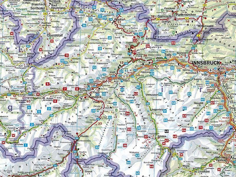 Almen und Hüttenwanderungen Tirol Oberland