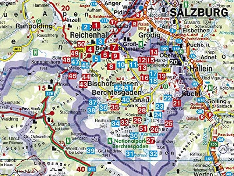 Rother Wanderführer Berchtesgadener Land