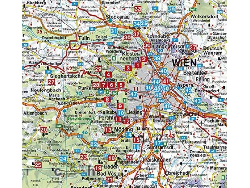 Rother Wanderführer Wien - Wienerwald
