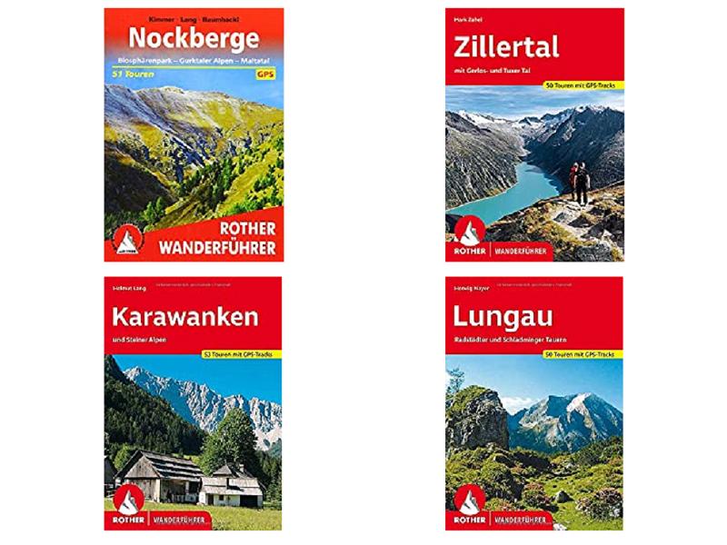 Rother Österreich Wanderführer und Wanderbücher 2020