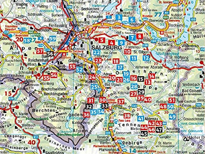 Rother Wanderführer Rund um Salzburg