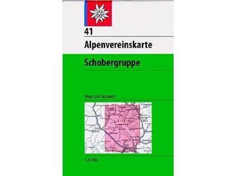 Topographische Karte, Alpenvereinskarte 41, Schobergruppe