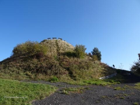 Erhebung Guglhupf bei Redlschlag im Burgenland