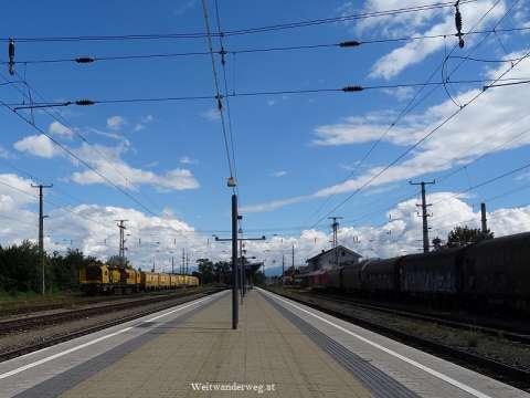Bahnhof Judenburg in der Steiermark