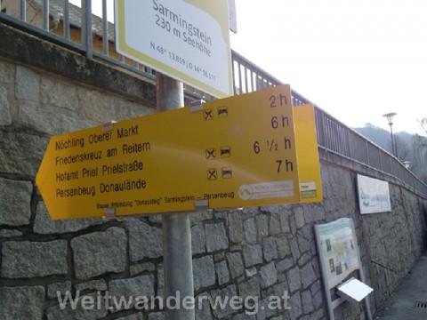 Sarmingstein an der Donau im Nibelungengau