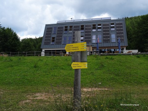 Naturfreundehaus Knofeleben in den Wiener Alpen, Niederösterreich