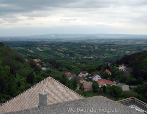 Ausblick von der Burg Forchtenstein