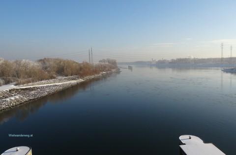 Winter Donauinsel Freudenau