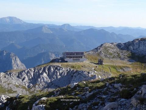 Das Schiestlhaus auf dem Hochschwab, Steiermark