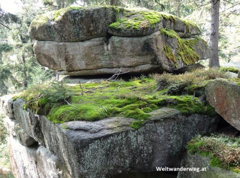 Granitlandschaft im Böhmerwald