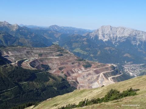Erzberg bei Eisenerz in der Grauwackenzone, Steiermark