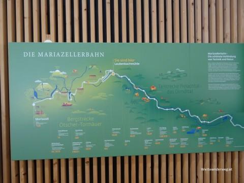 Strecke Mariazellerbahn im Pielachtal