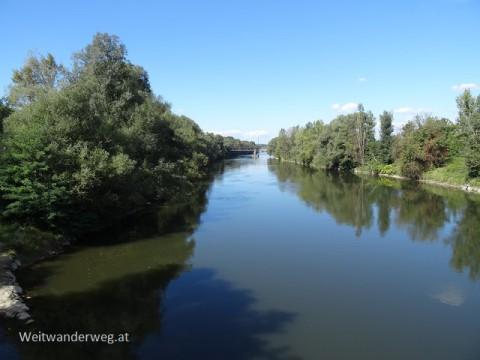 Fluss Mur in Spielfeld