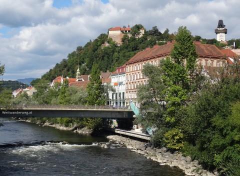 Die Mur in Graz