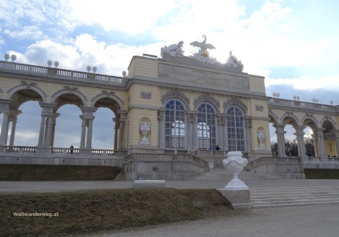 Gloriette im Schlosspark Schönbrunn