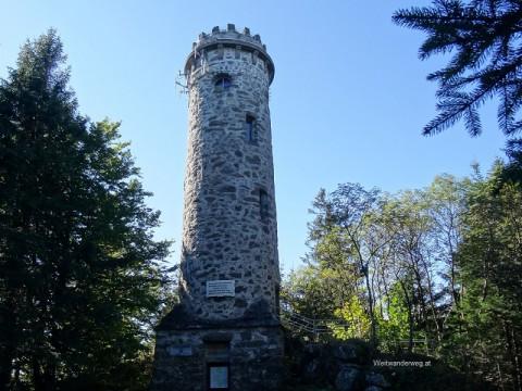 Die Sternsteinwarte auf dem Sternstein im Mühlviertel