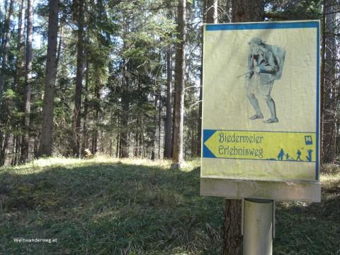 Biedermeier Erlebnisweg Impression bei Pernitz im Piestingtal
