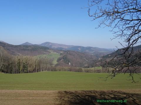 Landschaft bei Pernitz im Mostviertel
