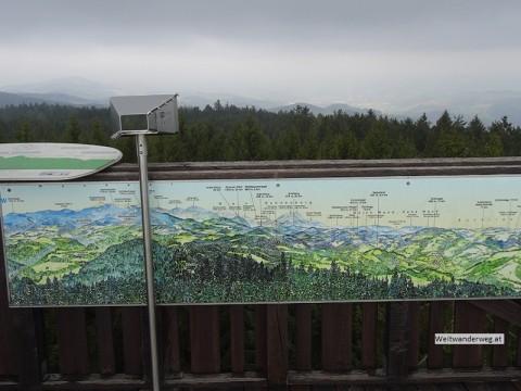 Aussichtswarte auf dem Hutwisch in der Buckligen Welt, Niederösterreich