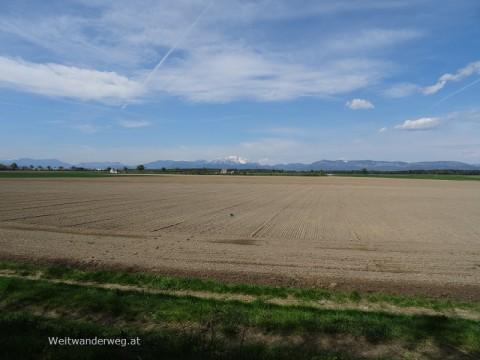 Steinfeld vor Semmering, Rax, Schneeberg, Hohe Wand