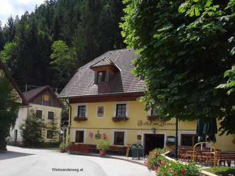 Bergsteigerdorf Johnsbach, Gemeinde Admont, Gesäuse, Steiermark.