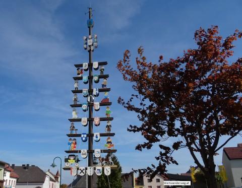 Gewerbebaum in Wiesmath