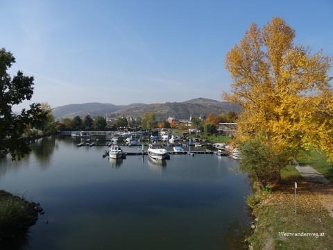 Yachthafen von Krems in der Wachau an der Donau