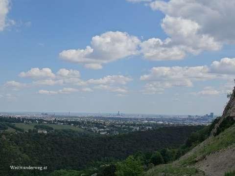 Ausblick über Wien