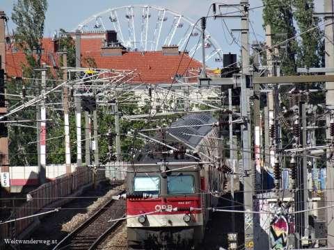 OEBB Zug Wien Mitte