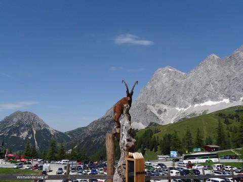 Dachstein bei der Talstation der Dachstein Seilbahn, Ramsau, Steiermark