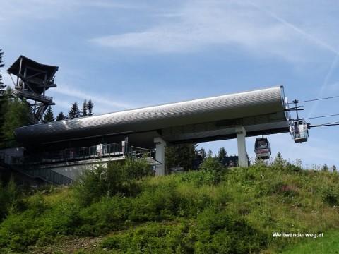 Bergstation Hirschenkogelbahn, Semmering