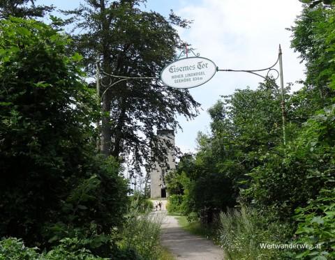 Schutzhaus Eisernes Tor auf dem Hohen Lindkogel.