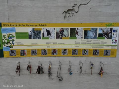 Geschichte des Kletterns am Peilstein