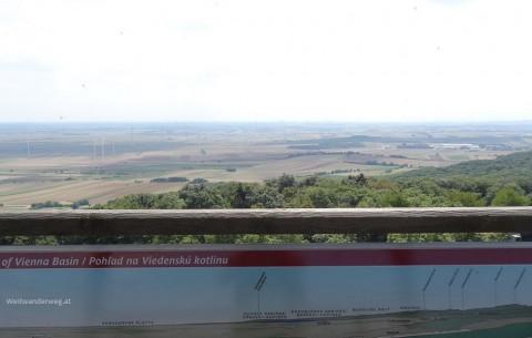 Ausblick von der Königswarte im Burgenland