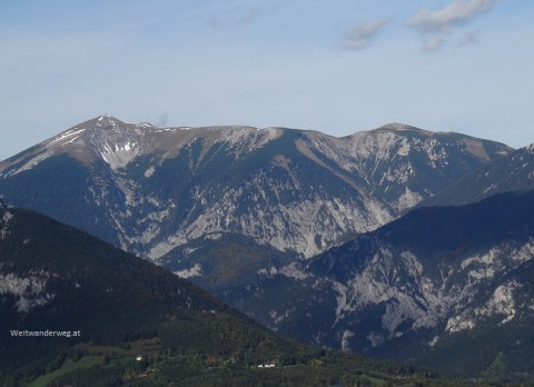 Der Schneeberg im südlichen Niederösterreich
